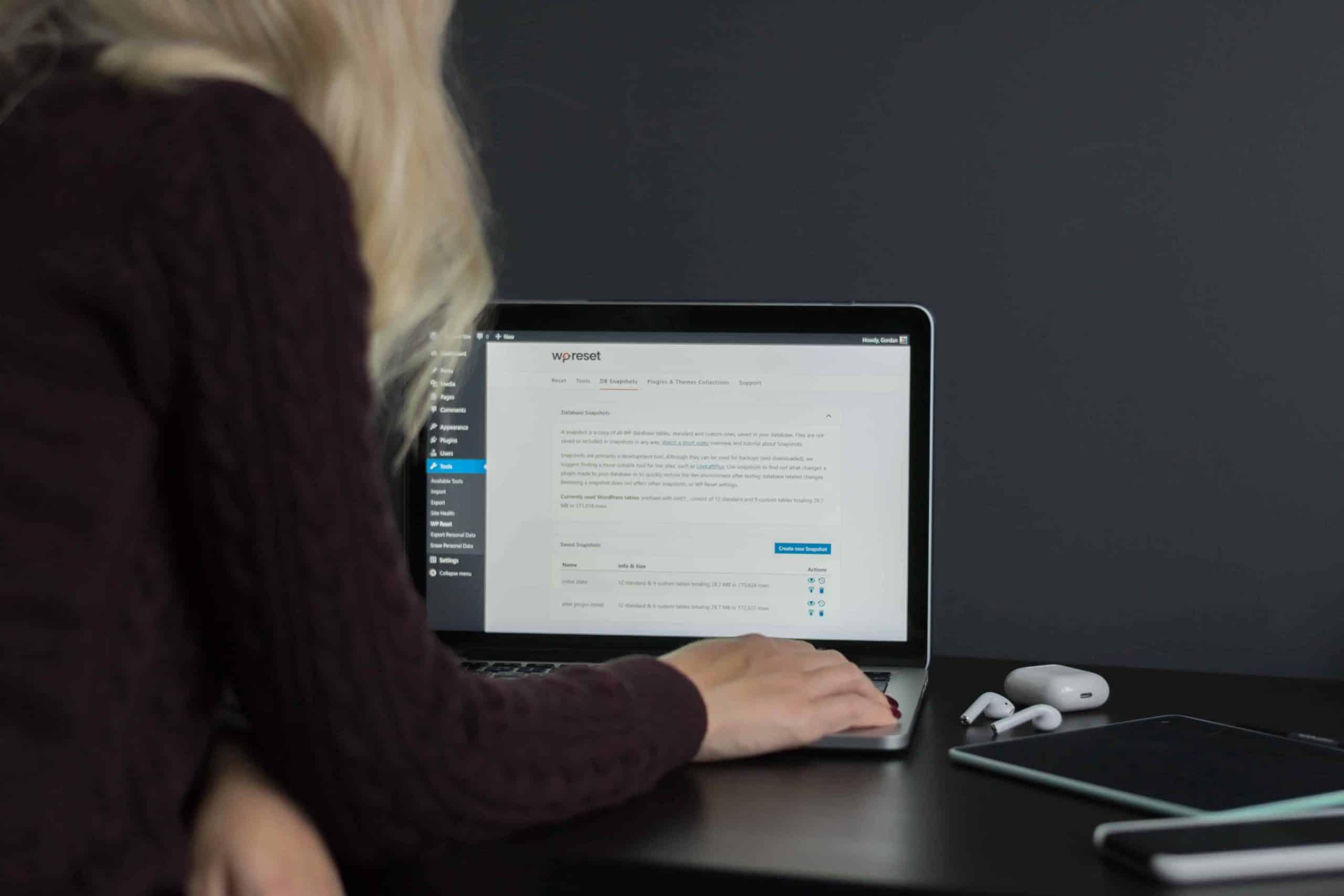 Webseitenerstellung - WordPress