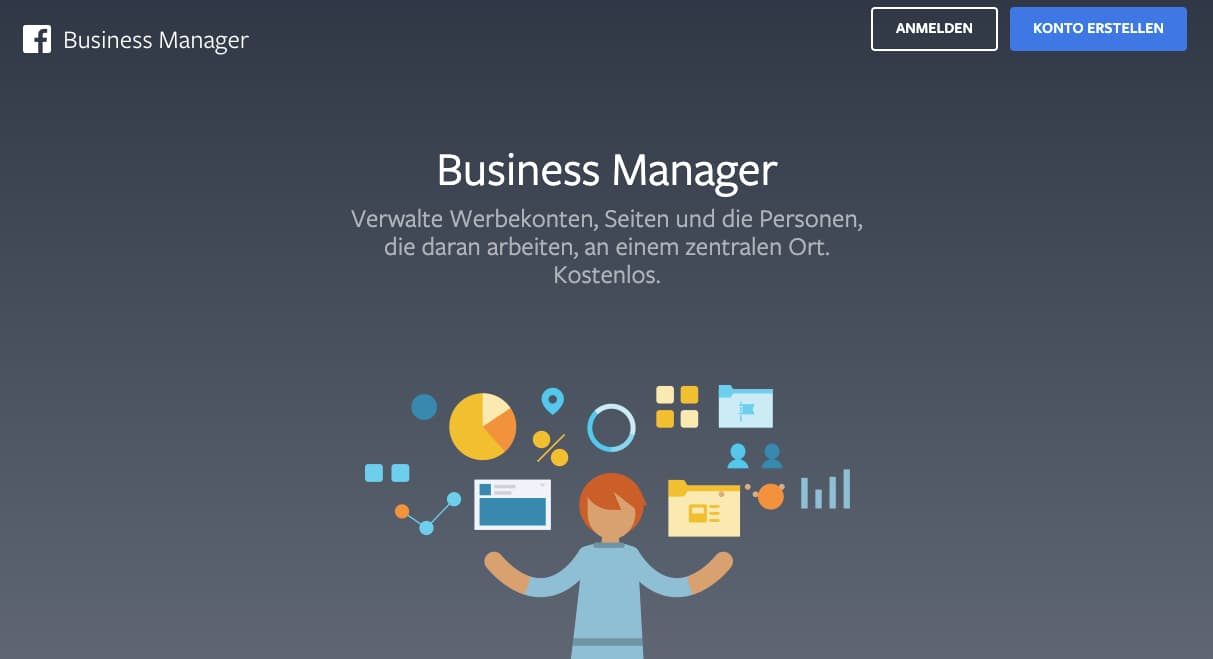 Facebook Business Manager - Konto Erstellen