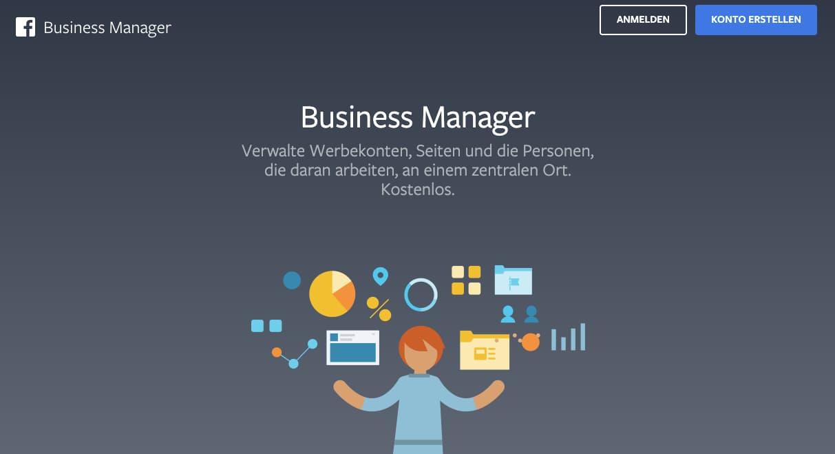 Facebook Business Manager - Konto Erstellen